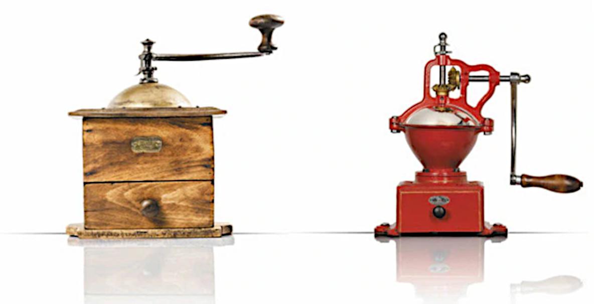 Кухонные мельницы, выпускавшиеся фабриками «Пежо»
