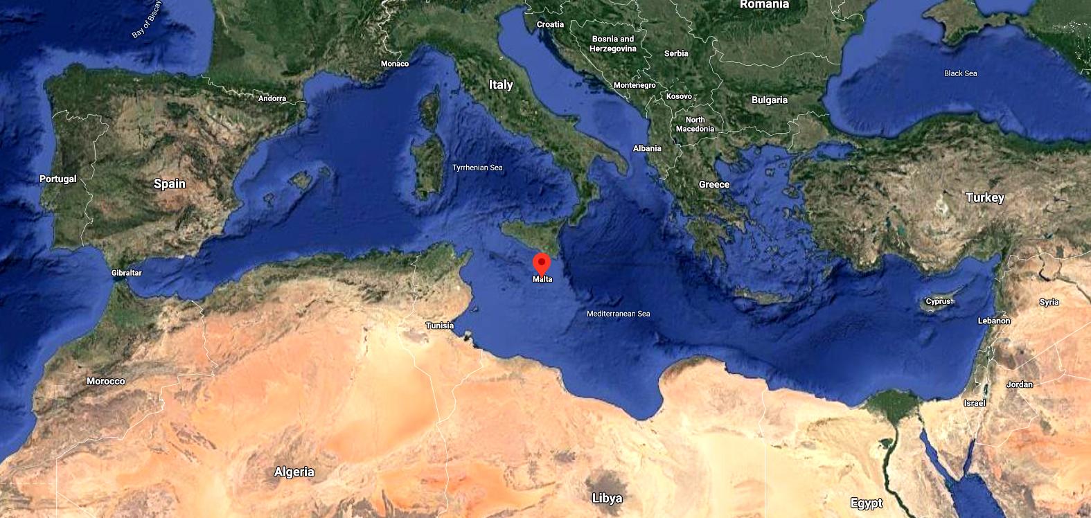 Мальта контролирует Средиземное море