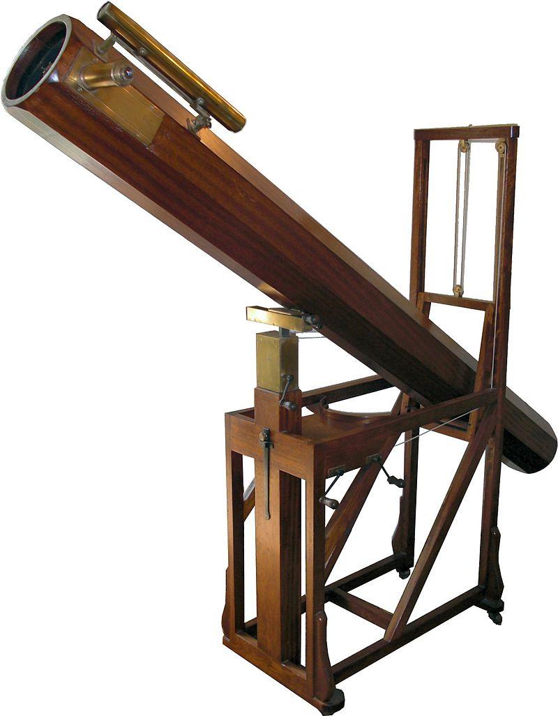С помощью подобного телескопа Гершель открыл Уран