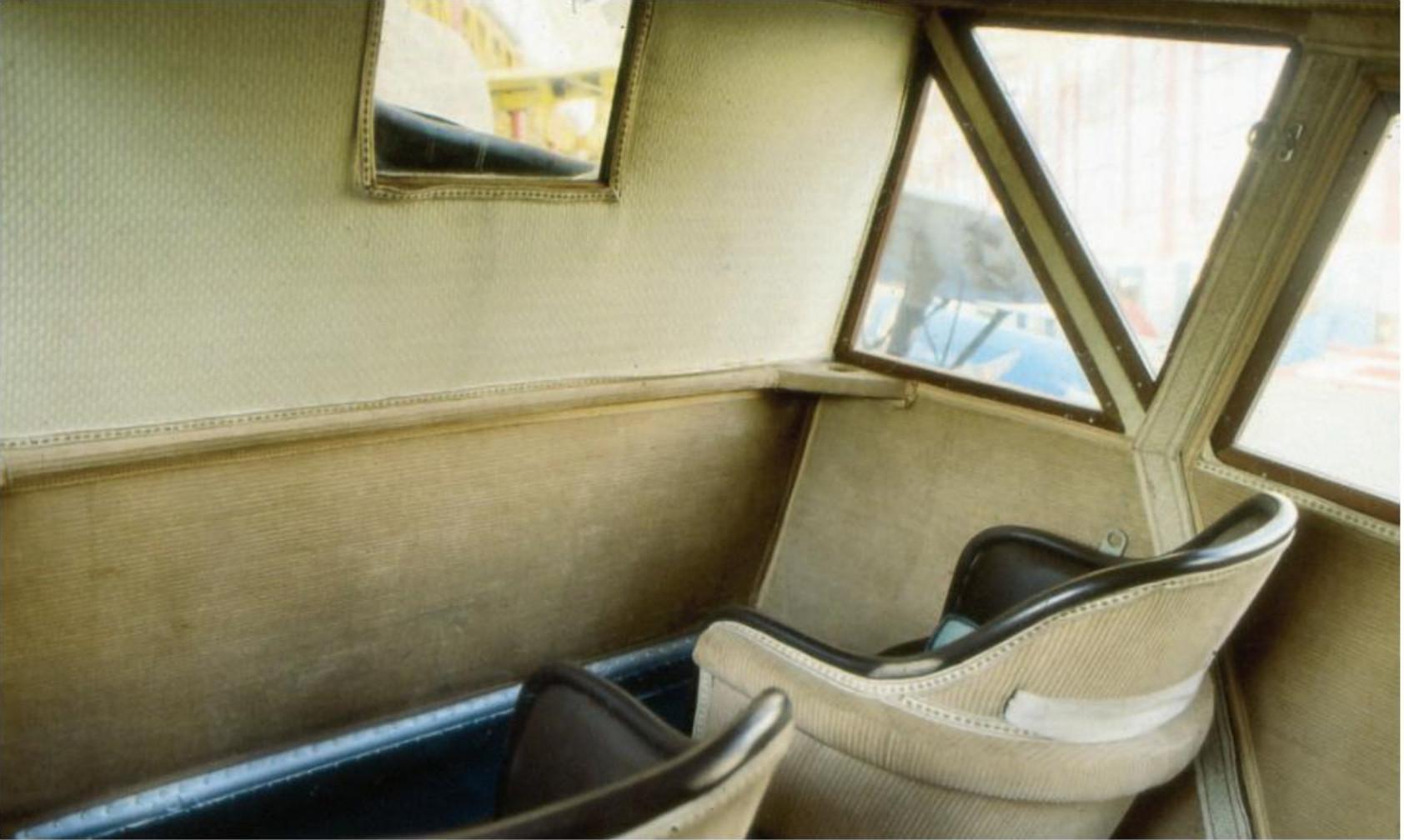 В пассажирском салоне «Юнкерса F13»