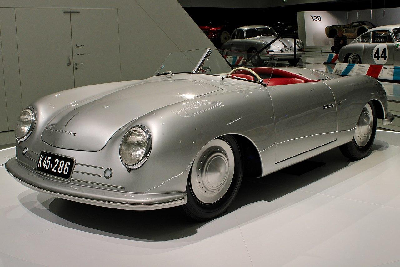 «Порше 365» Roadster 1948 года выпуска