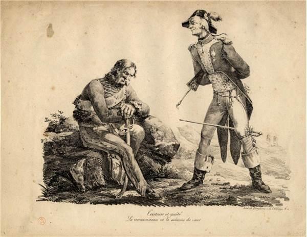 Наполеоновские солдаты-инвалиды