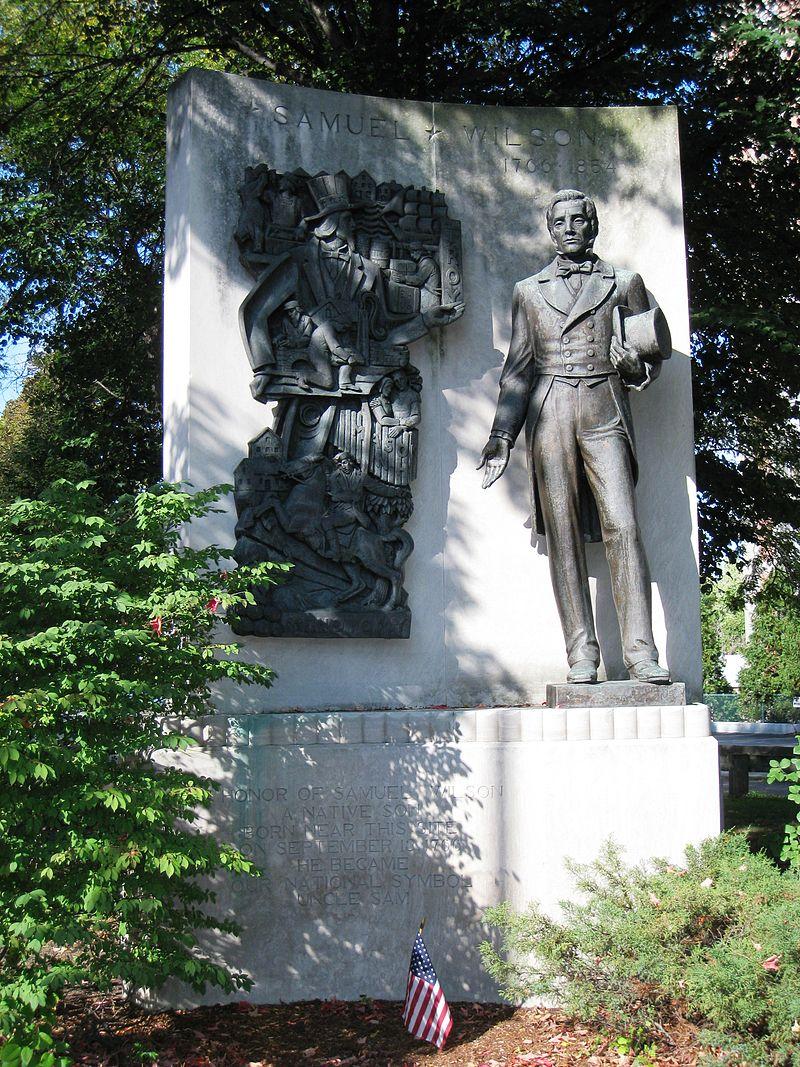 Памятник Сэму Уилсону в Арлингтоне