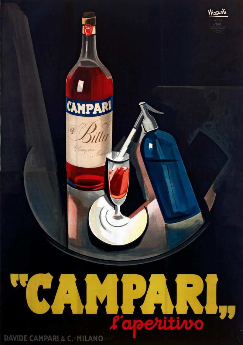 Постер Кампари Апперетив – Художник Marcello Nizzoli, 1926