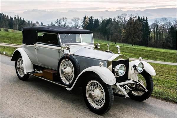 Роллс-Ройс Rolls-Royce Silver Ghost 1907. Один из первых автомобилей этой марки