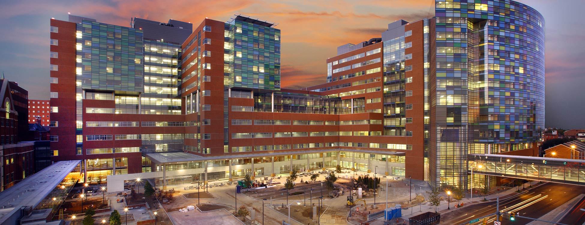 Больница Джонса Хопкинса в восточном Балтиморе