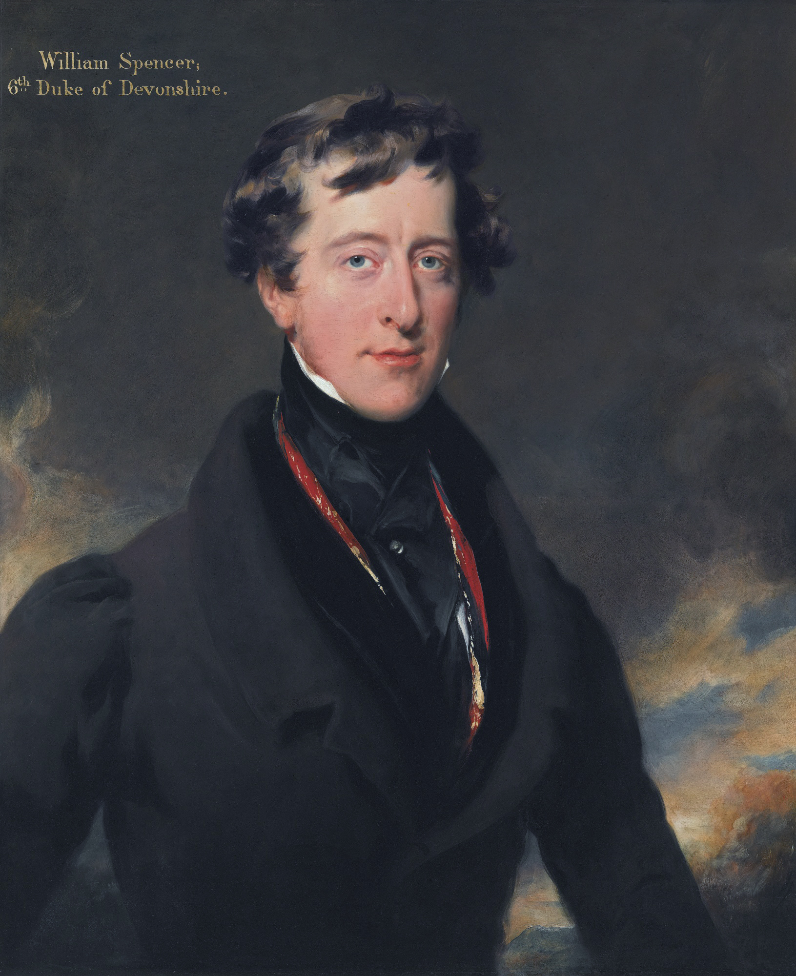 William Spencer. Cavendish, 6th Duke of Devonshire, by Thomas Lawrence. Уильям Спенсер Кэвендиш.