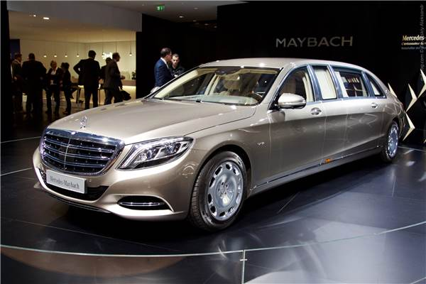 Мерседес-Майбах Пульман – Mercedes-Maybach s600 pullman на выставке в Женеве